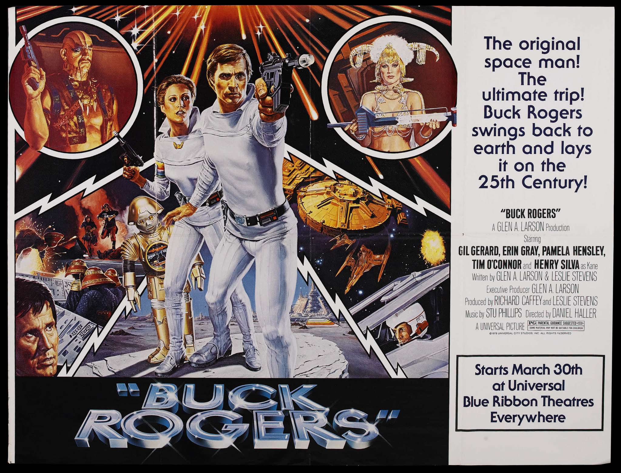 1979 Movie Posters: Buck Rogers Movie Poster 03
